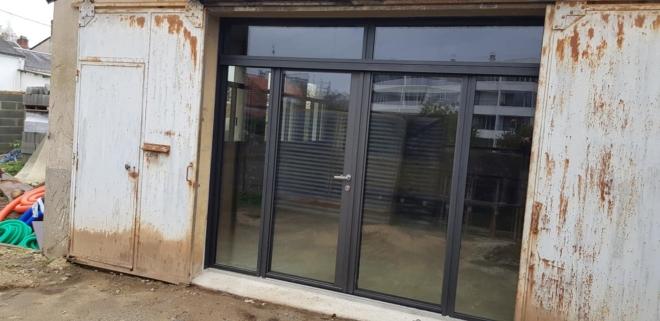 Menuiseries aluminium de marque K-LINE, La Fenêtre Lumière Style industriel