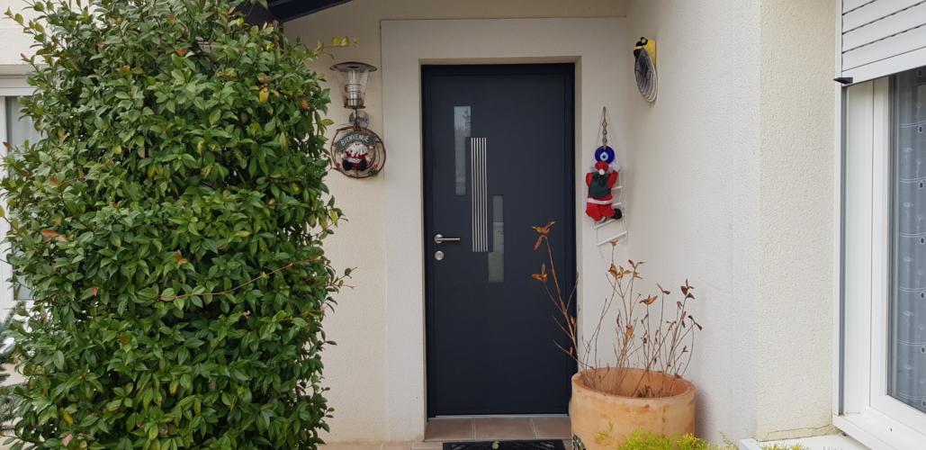 Porte d'entrée & Porte de service Aluminium K-LINE – LAGORD
