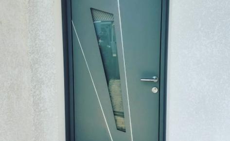 Porte d'Entrée Modèle Fuseau 85 MM – K.LINE – Aigrefeuille d'Aunis (17290)